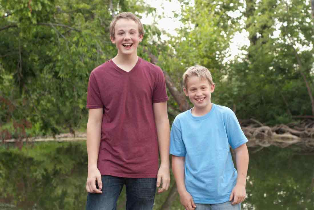 پسران تا چه سنی رشد می کنند؟
